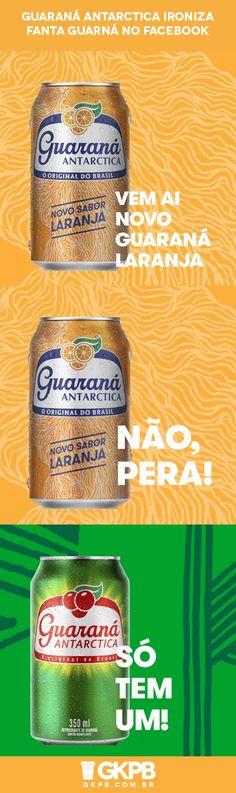 Em anúncio de oportunidade no Facebook, refrigerante Guaraná Antarctica dá uma cutucada na nova Fanta Guaraná e reforça sua tradição no mercado brasileiro.