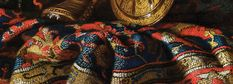 Francesco Noletti - The Grand Roman Baroque Carpet Still-Life