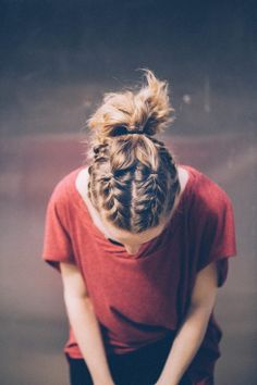 Braided gym hair that will not fall out