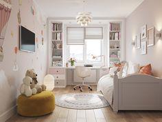 Ideas For Small Kids Room Layout Beds Bedroom Furniture Design, Girl Bedroom Designs, Living Room Designs, Bedroom Decor, Furniture Layout, Furniture Ideas, Furniture Inspiration, Luxury Furniture, Small Girls Bedrooms