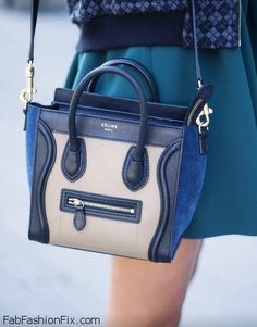 Mini Celine bag...want something like that