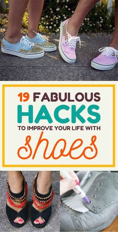 19 Fabulous Hacks To Make Your Shoes Look And Fit Perfectly Every Time (1-12, 14)