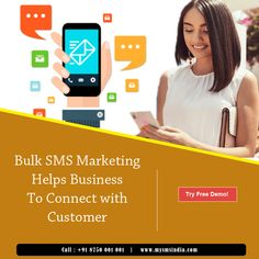 Get Maximum traffic on your Website/Apps via Bulk SMS affordable marketing service. Marketing Software, Coding, India, Website, Business, Apps, Goa India, Store, App