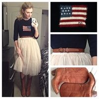 Love this Americana look from the Real Women Style awards! #RBKbestdressed