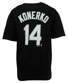 Majestic Men's Short-Sleeve Paul Konerko Chicago White Sox T-Shirt