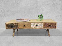 The Sahara coffee table is a genuine love at first sight piece made for functionality and unquestionable style.