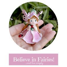 Flower Fairy - Video tutorial by Celidonia (Daniela Messina) Baby Voice, Gnome Tutorial, Polymer Clay Dolls, Fairy Land, Clay Tutorials, Clay Projects, Art Dolls, Diy Crafts, Biscuit
