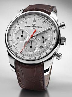 Girard-Perregaux Competizione Stradale - silver dial - Perpetuelle