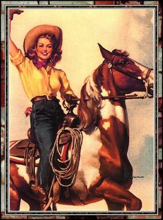 Vintage Pinup Cowgirl Photo:  This Photo was uploaded by tia19652001. Find other Vintage Pinup Cowgirl pictures and photos or upload your own with Photob...