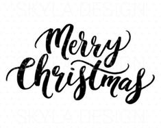 frohe weihnachten svg weihnachten svg datei etsy christmas signs merry christmas fonts - Merry Christmas Black And White