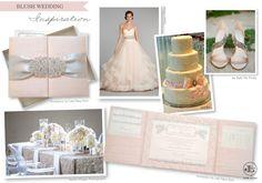 New York Weddings | New York Wedding Blog | NYC Wedding Inspiration | Luxury Invitations: Thursday Trend Day | Blush Wedding Inspiration featuring Luxury Wedding Invitations by Lela New York