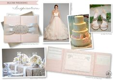New York Weddings   New York Wedding Blog   NYC Wedding Inspiration   Luxury Invitations: Thursday Trend Day   Blush Wedding Inspiration featuring Luxury Wedding Invitations by Lela New York