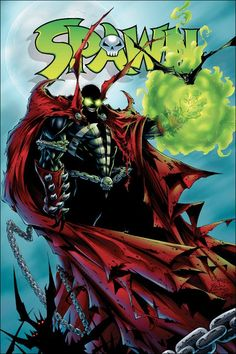 SPAWN (Series Began Issue NEWSSTAND comics in Near Mint condition. Published by Image Comics. Near Mint - Nearly perfect with only minor imperfections allowed. Spawn Comics, Spawn 1, Marvel Tattoos, Best Comic Books, Todd Mcfarlane, Comic Pictures, Comic Pics, How To Make Comics, Image Comics