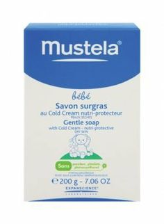 Mustela Mustela Bebe Gentle Soap with Cold Cream by Mustela. $6.00. Condition your baby's skin as you cleanse with Mustela Bebe Gentle Soap with Cold Cream. It takes even the driest, most dehydrated skin and softens it to the texture of smooth silk as it removes all impurities....