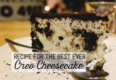 Flavio Ensiki via Flickr This is a recipe for an Oreo cheesecake, one of the quick easy desserts I like to to make. It is best to make this the day before, so that it has ample time to cool. If you are making it the same day, then allow at least...