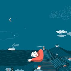 The Dreamy Illustrations of Federica Bordoni