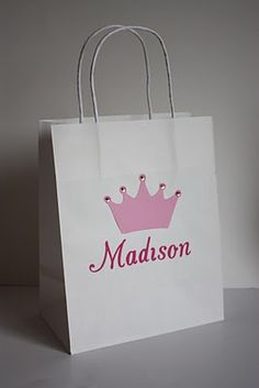 Gift bags & great ideas for Lacies party!!