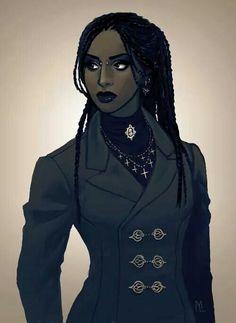 Muito, muito linda!!!! Belíssima!!! L.L. Afro Goth: