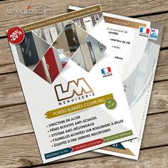 flyers menuiserie
