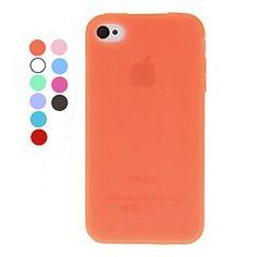 Custodia+morbida,+in+TPU,+per+iPhone+4/4S+(vari+colori)+–+EUR+€+1.89