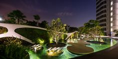 TROPdesign the landscape for Cape Royale, the sea-side luxury condominium in Sentosa, Singapore. Photography team » W Workspace Photographer » Wison Tungthunya Assistant Photographer »Apidon Chal...