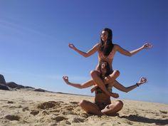 friend yoga! Get to know your fellow retreater! http://www.liquidretreats.com/the-journey/yoga/