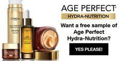 Loreal Free Sample of Age Perfect April 2016 - http://couponsdowork.com/freebies-giveaways/loreal-free-sample-age-perfect/