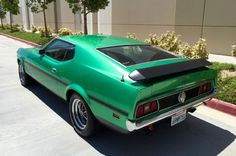 Mark Wilson found a 1971 Ford Mustang Mach 1 429 Cobra Jet that when new was homologated with special features for export to Japan.