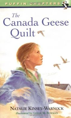 The Canada Geese Quilt (Puffin Chapters) by Natalie Kinsey-Warnock http://www.amazon.com/dp/0141304626/ref=cm_sw_r_pi_dp_7pGNtb08K081D546