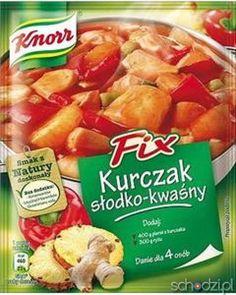 Knorr FIX kurczak słodko-kwaśny 64g. - Schodzi.pl