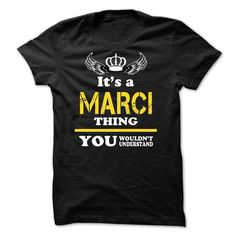 ITS A MARCI THING YOU WOULDNT UNDERSTAND - #tshirt outfit #tshirt skirt. BUY TODAY AND SAVE => https://www.sunfrog.com/Names/ITS-A-MARCI-THING-YOU-WOULDNT-UNDERSTAND-48989281-Guys.html?68278