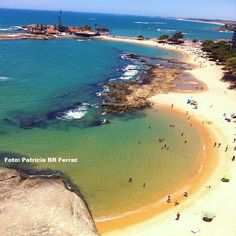 A belíssima Praia das Castanheiras – Guarapari