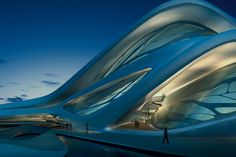 Zaha Hadid's Abu Dhabi Performing Arts Center (scheduled to open in 2013)