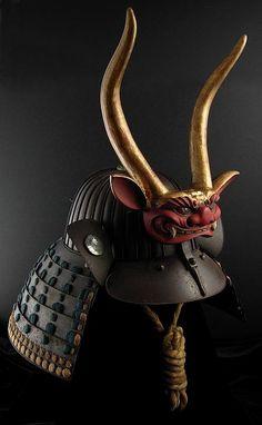 32 Ken Samurai Suji Kabuto [Helmet]