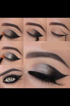 Step by step makeups