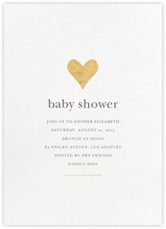 100 stunning printable baby shower invitations printable baby luminous heart whitegold paperless post filmwisefo