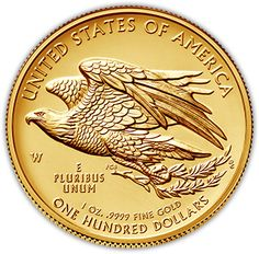 2015 American Liberty High Relief Gold Coin – Reverse