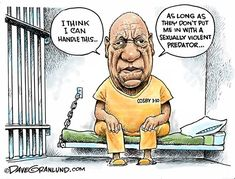 3c9d91562 Dave Granlund cartoon on Bill Cosby's sentencing for sexual assault. # billcosby #politicalcartoon #