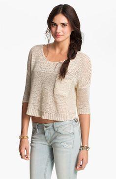 American Rag Sweater, Long Sleeve Tribal-Print Blanket Coat ...