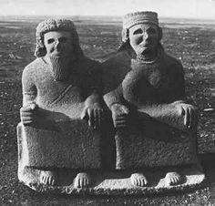 Ancient Hittite God and Goddess, ca. 1500 BC