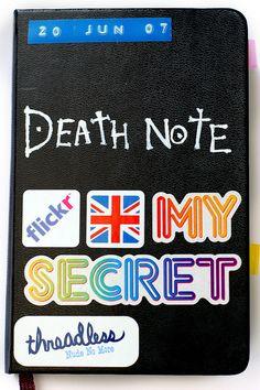 Death Note moleskine
