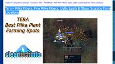 Tera Online Guide - Where To Farm Fine Pilka Fibers, Straw Scarabs and Idyllic Leafs. Here are the 2 best farming routes for gathering Pilka Plants.