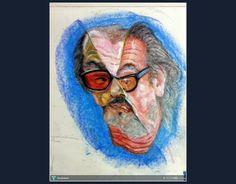 HBD..Jack Nicholson #Creative #Art #Painting @touchtalent.com