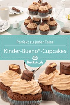 Nutella Muffins, Nutella Cupcakes, Mini Muffins, Cupcake Frosting, Cupcake Cakes, Baking Recipes, Cookie Recipes, Deco Cupcake, Mary Recipe