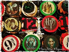 Harry Potter themed cupcakes!!!