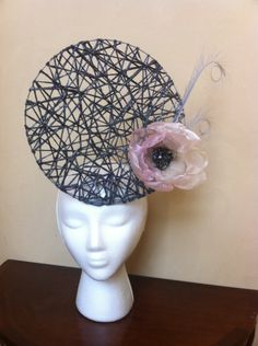 Ava BY TIFFANY AREY #millinery #hats #HatAcademy