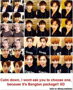 Oh My!.. I want them all BTS ♥