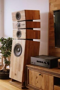 Room Acoustics, Speaker Box Design, Acoustic Design, Diy Speakers, Surround Sound Systems, Audio Room, Music System, High End Audio, Hifi Audio