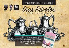 Invitación a la presentación del libro de relatos de Maritza Cino