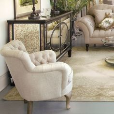 Lily Chair  in Holiday 2012 from Arhaus Furniture on shop.CatalogSpree.com, my personal digital mall.